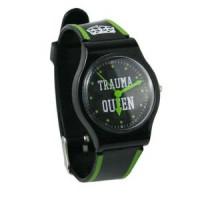 """Trauma Queen"" Jelly Watch - 01108"