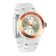Womens Clear Link Watch - 01103