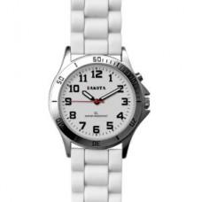 Color Silicone E. L. Watch - White - 01124