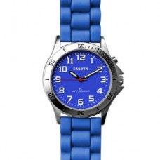 Color Silicone E. L. Watch - Blue - 01129