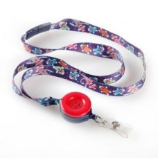 Sock Monkey Ribbon Lanyard - 01216