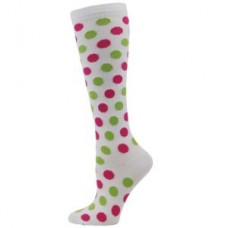 Fashion Polka Dot Compression Socks - 01423
