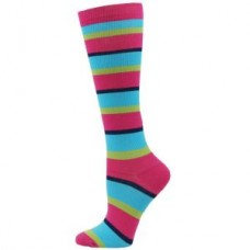 Fashion Stripe Compression Sock - 01424