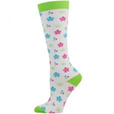 Flower Power Fashion Compression Sock-Regular - 01446
