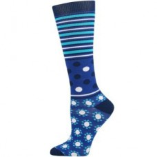 Abstract Fashion Compression Sock-XL - 01451