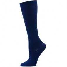 Solid Navy Compression Sock - XL - 01657