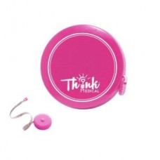 "60"" Fiberglass Tape Measure - Pink - 01792"
