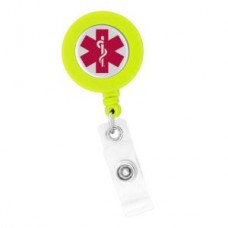 "Red ""Star of Life"" ID Holder - 01804"