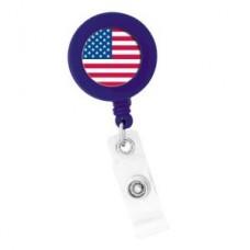 """American Flag"" ID Holder - 01807"