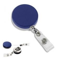 Heavy Duty Metal ID Holder - Blue - 01818