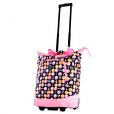 Rolling Medical Tote- Pink - 01827