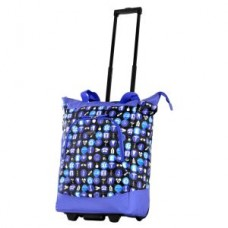 Medical Rolling Tote - Purple - 01828
