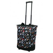 """Deluxe Rolling """"Nurse"""" Tote  by Olympia - 01838"""
