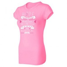 Hope Breast Cancer Awareness T-Shirt  - 02106CP