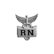 "Professional Lapel Pin-""RN"" - 94506"