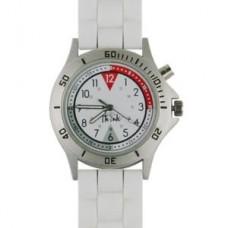 Unisex Silicone Nurse Watch-White - 94509