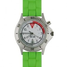 Braided Silicone Professional Watch-Green - 94514