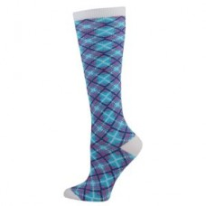 Angled Plaid Fashion  Compression Sock - 94517