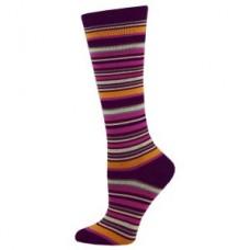 Autumn Multi Stripe Fashion Compression Sock - 94520