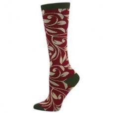 Olive Vine Fashion Compression Sock - 94521
