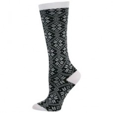 Holiday Snowflake Fashion Compression Sock - 94522