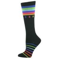 Multi-Ribbon Cancer Awareness Premium Fashion Compression Sock - 94524