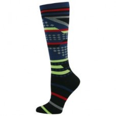 Mens Aztec Stripe  Compression Sock - 94527