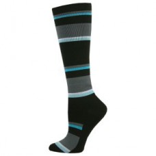 Mens Striped Block Compression Sock - 94529