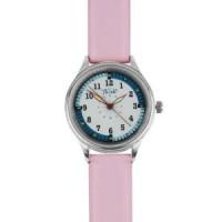 Luxury Leather Nurse Watch - Pink - 94531