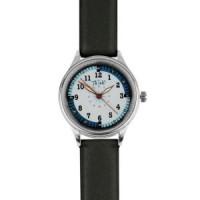 Leather Luxury Nurse Watch-Black - 94533