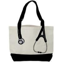 Canvas Stethoscope Bag - Black - 94549