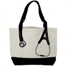 Canvas Stethoscope Bag - Black - 94549