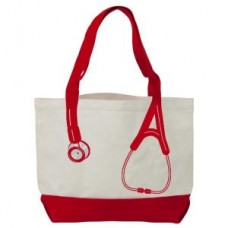 Canvas Stethoscope Bag - Red - 94550