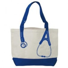 Canvas Stethoscope Bag - Royal - 94551