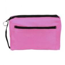 Nylon Zippered Organizer - Pink - 94558