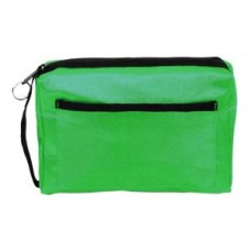 Nylon Zippered Organizer - Lime - 94559