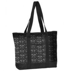 Fashion Print Utility Tote -Filigree - 94563