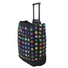Fashion Rolling Tote - Polka Dot - 94620