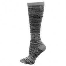 Marled Compression Sock - Grey - 94659