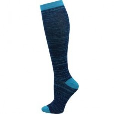 Marled Compression Sock - Blue - 94660