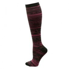 Marled Compression Sock - Pink - 94661