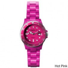 Fusion Color Link Watch - Hot Pink - 01120