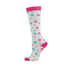 Flower Power Fashion Compression Sock-Regular - 01446