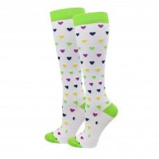 Tiny Hearts Fashion Compression Sock - 94023