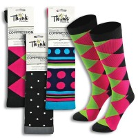 Fashion Compression 6pk Sock Assortment -94502