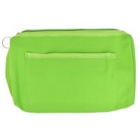 Nylon Zippered Organizer - Lime - 94559
