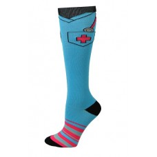 Scrub Top Fashion Compression Sock - 94663