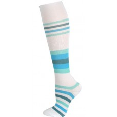 Blue Stripes Fashion Compression Sock - 94671