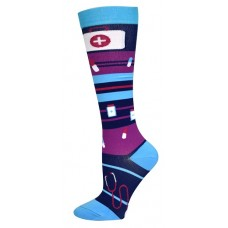 Medical Bag Fashion Compression Sock - 94674