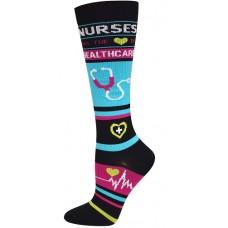 Healthcare Fashion Compression Sock-XL - 94700